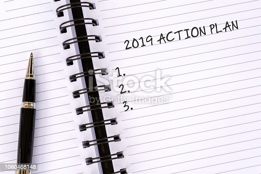 1186985932 istock photo 2019 Action Plan on Notepad 1060468148