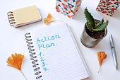 istock action plan written in notebook 962563404