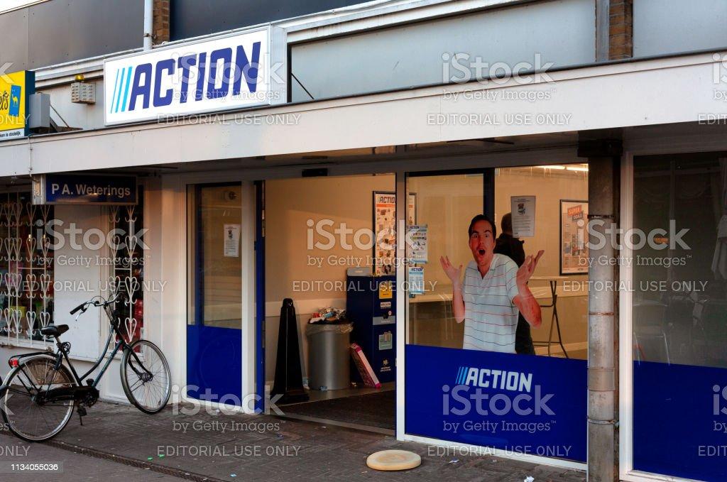 Action Shop In Amersfoort Netherlands2019 Stock Photo Download Image Now Istock