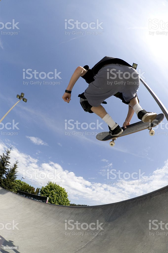 Action Sports - Big Air royalty-free stock photo