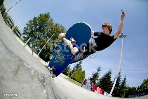 92451800 istock photo Action Sports - Josh 5-0 Axel Stall 92248779