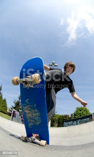 istock Action Sports - Josh Blunt Stall 92248770