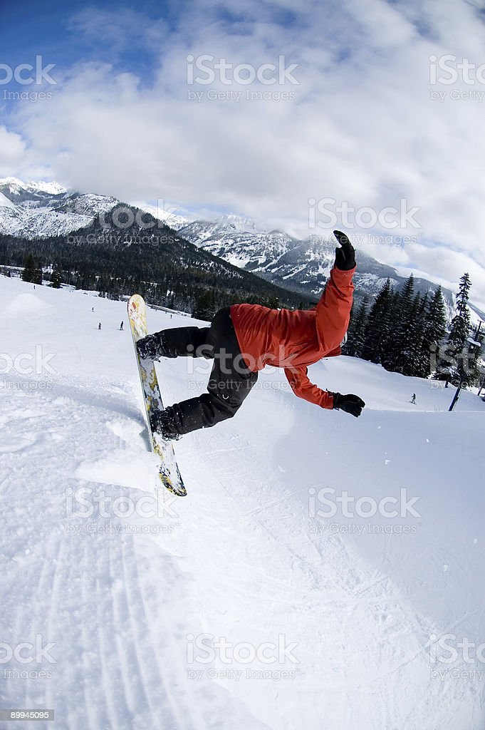 Action Sports - Lip Slide royalty-free stock photo