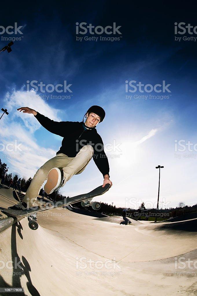Action Sports - Lip Tricks royalty-free stock photo