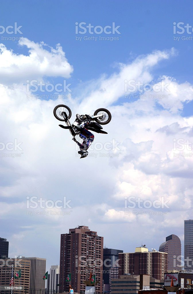 Action Sports - Motocross stock photo