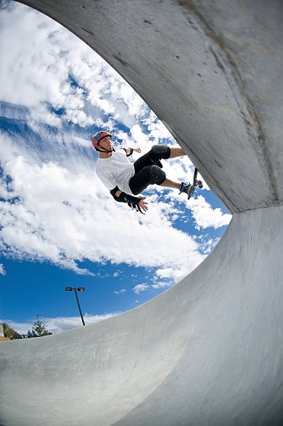 Action Sports - Rock to Fakie stock photo