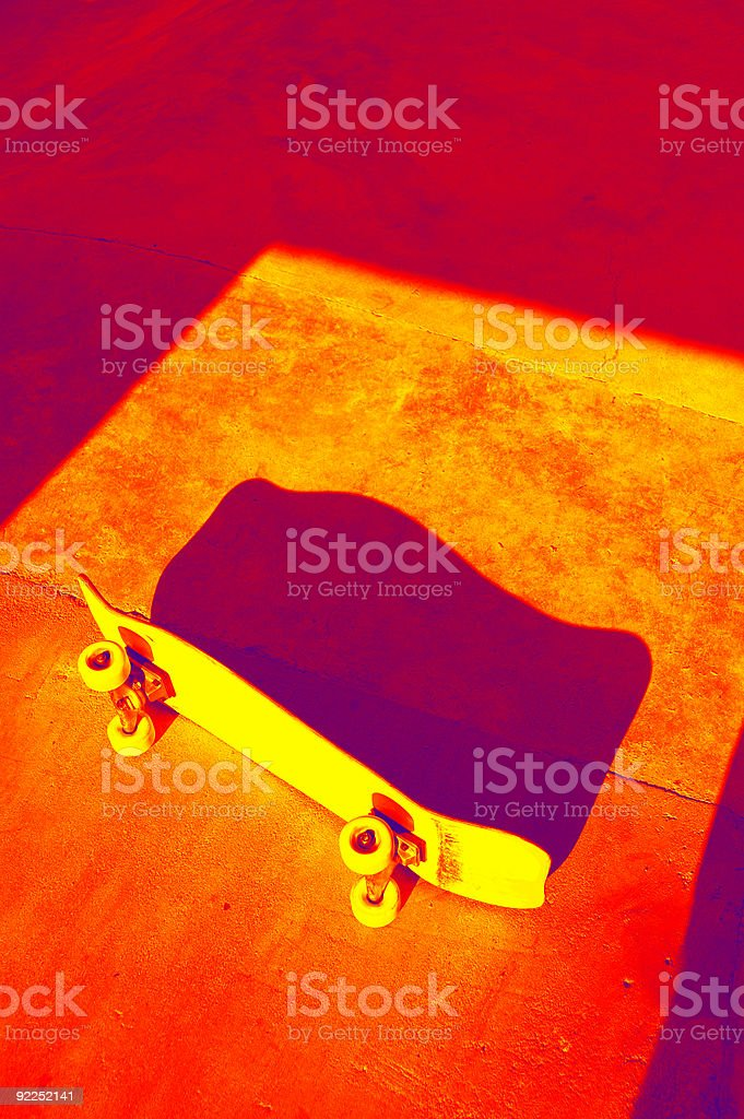 Action Sports - Skateboard stock photo