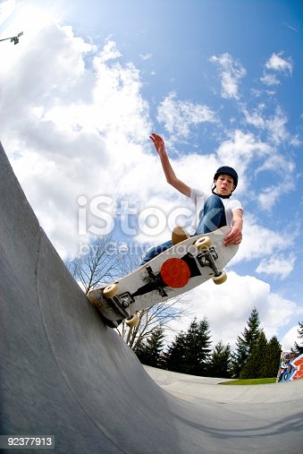 istock Action Sports - Tail Block 92377913