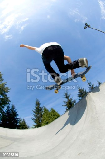 istock Action Sports - Youth Skateboard 5 92258349