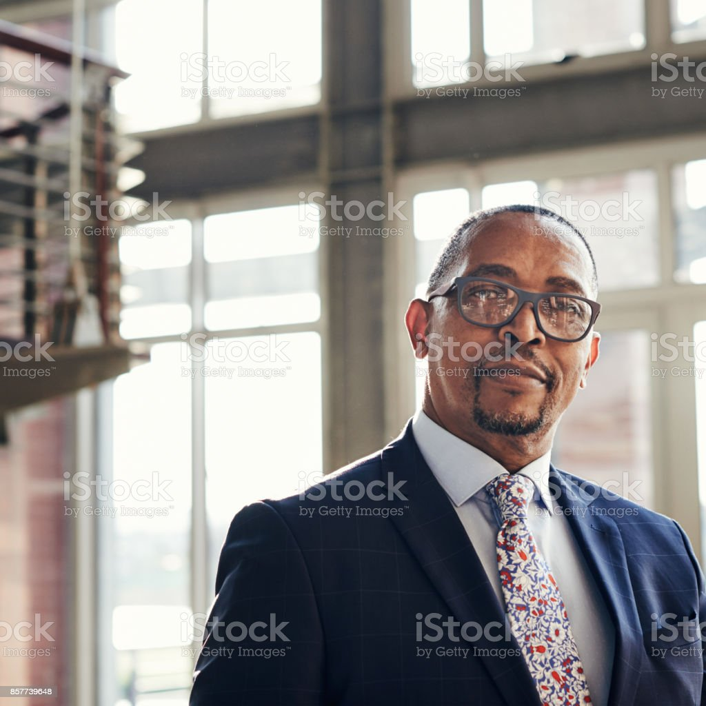 Actions and words both speak louder in business stock photo