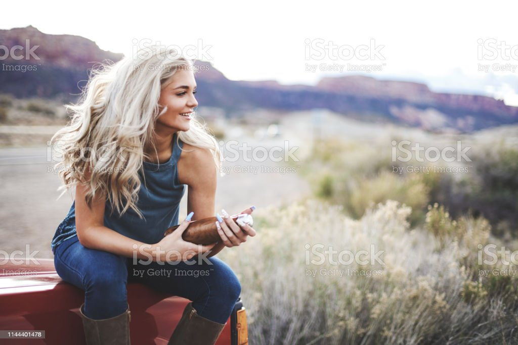 Female Active and Attractive College Student Friends Outdoors in...