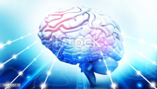 667379952 istock photo Active human brain 1048155110