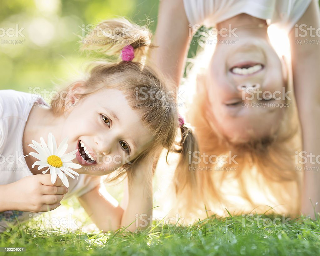 Active kids royalty-free stock photo