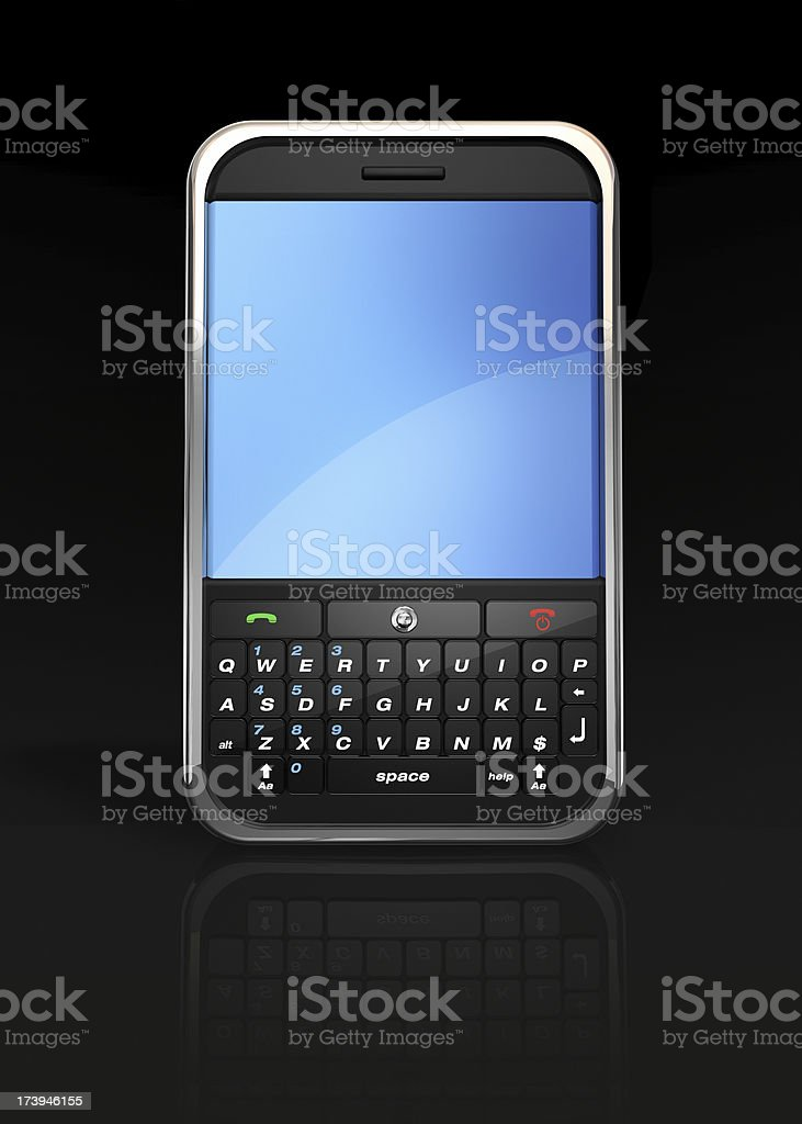 active phone/pda royalty-free stock photo