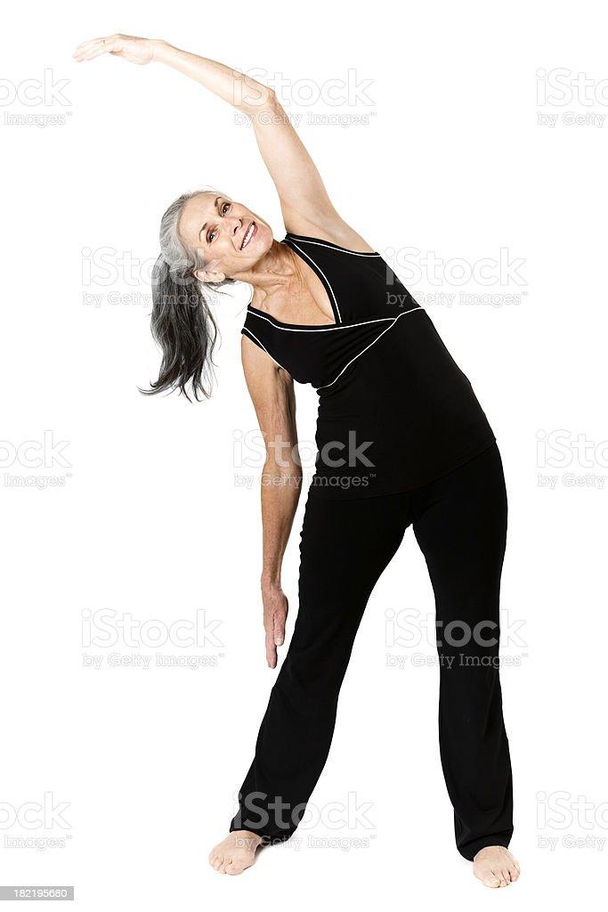 Active Senior Citizen royalty-free stock photo