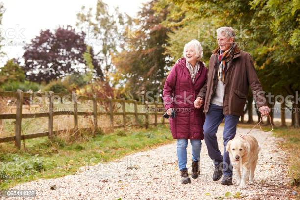 Active senior couple on autumn walk with dog on path through picture id1065444322?b=1&k=6&m=1065444322&s=612x612&h=ij9tpqfu5yzqw9oi fe7j1zwvqb3qy6cnk2lllgtx8g=