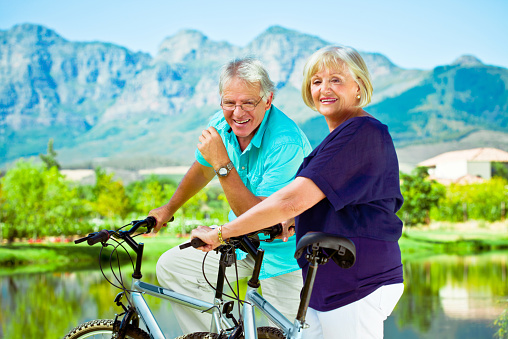 Active Senior Couple Stock Photo - Download Image Now