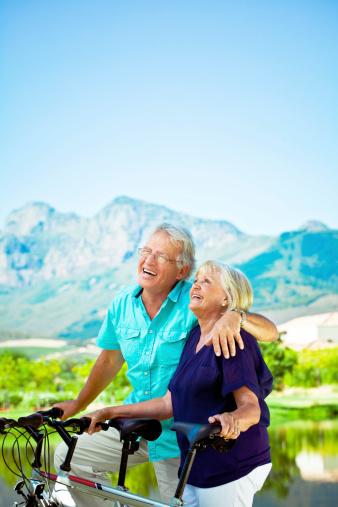 Active Senior Couple Stock Photo - Download Image Now