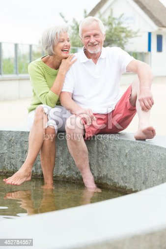 452783143istockphoto Active senior couple 452784557