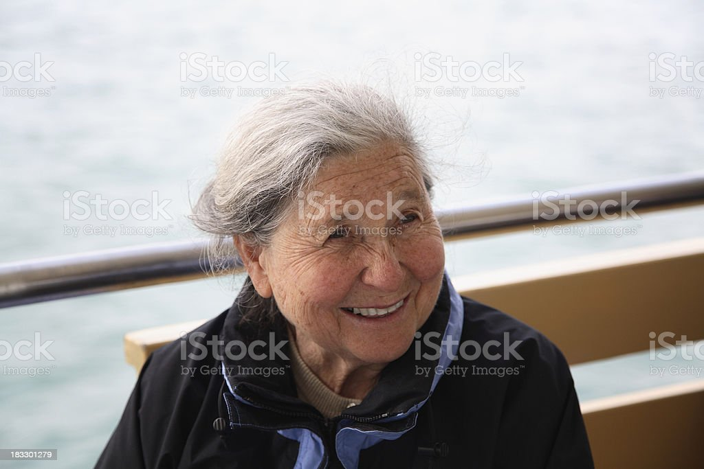 Active senior royalty-free stock photo