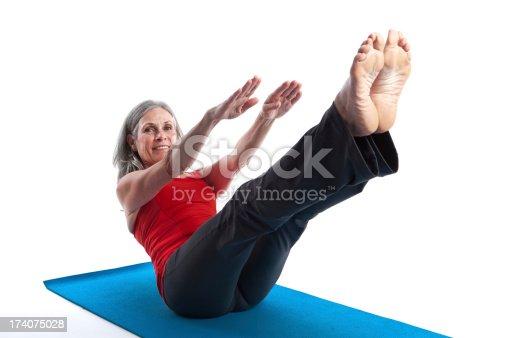 851958232istockphoto Active Senior Woman 174075028