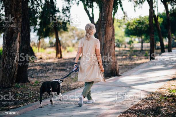 Active senior woman walking with pet dog in forest park picture id979343012?b=1&k=6&m=979343012&s=612x612&h=to5plgqd2vg9ivigyipb 6echdm66suj0ul mt5b 7c=