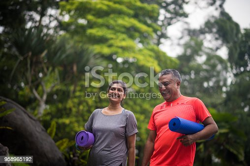 istock Active seniors enjoying a healthy lifestyle 958965192