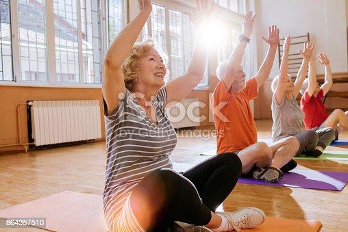 istock active seniors enjoying retirement 864357510