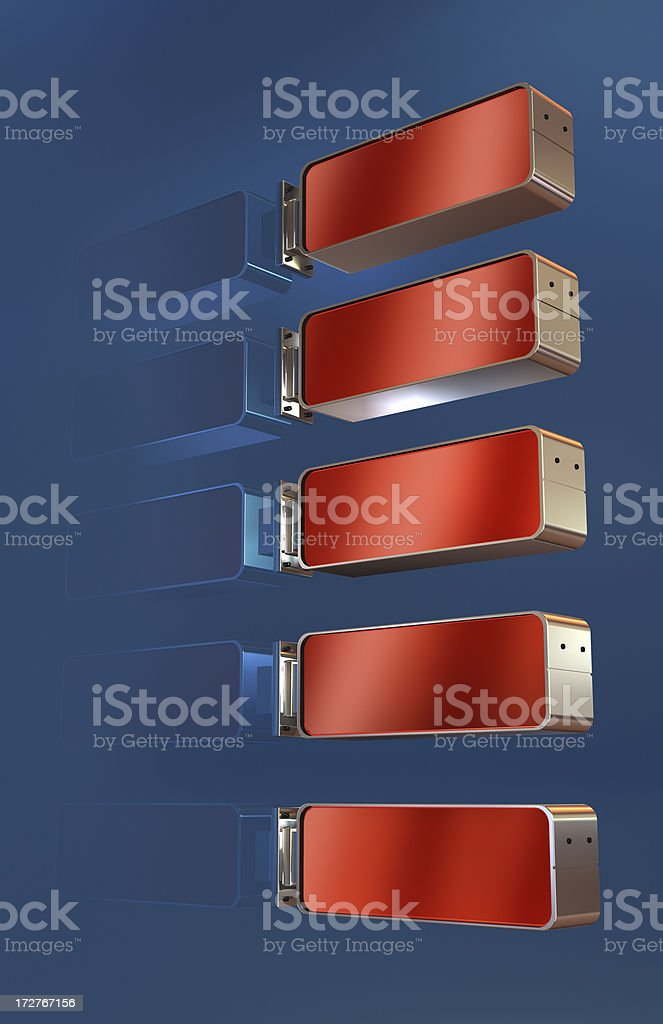 Active Sign royalty-free stock photo