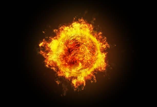 sole active - big bang foto e immagini stock