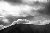 Active volcano mount Bromo in Indonesia