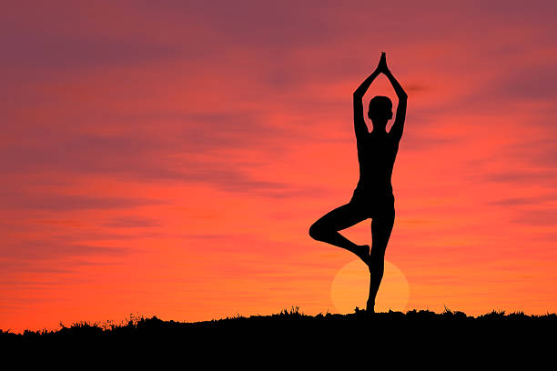 Active - Yoga 1 stock photo