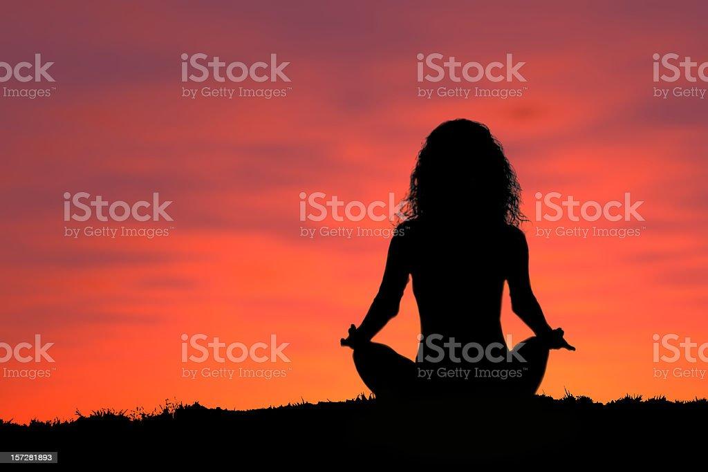 Active - Yoga 2 royalty-free stock photo