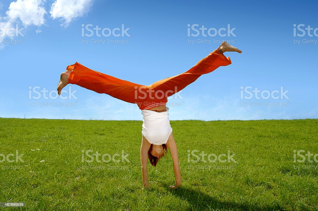 Activities: Gymnastics 1 royalty-free stock photo