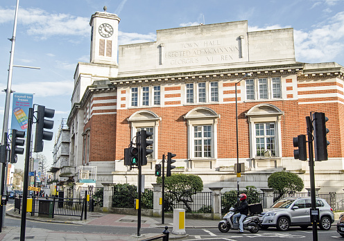 Acton Town Hall West London Stock Photo - Download Image Now