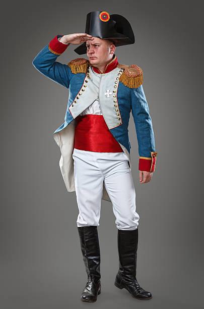 Cтоковое фото Актёр одет как Napoleon