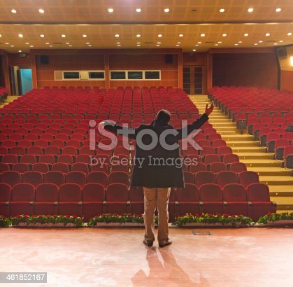 istock actors rehearsing on stage 461852167