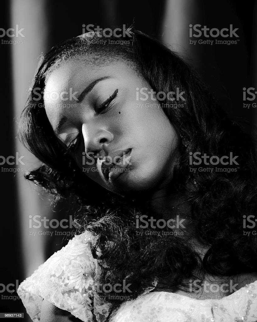 Actress royalty-free stock photo
