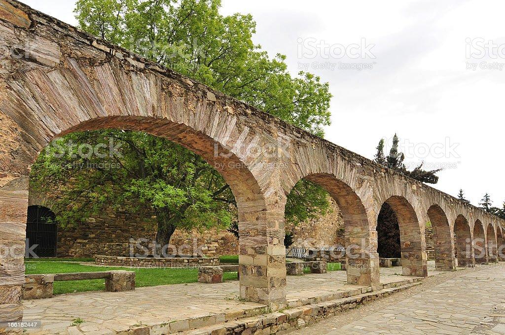 Acueducto en Astorga, León (España) - foto de stock