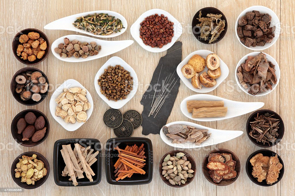 Acupuncture Alternative Medicine stock photo