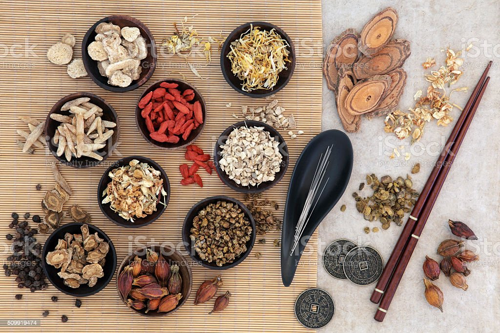 Acupuncture Traditional Chinese Medicine stock photo