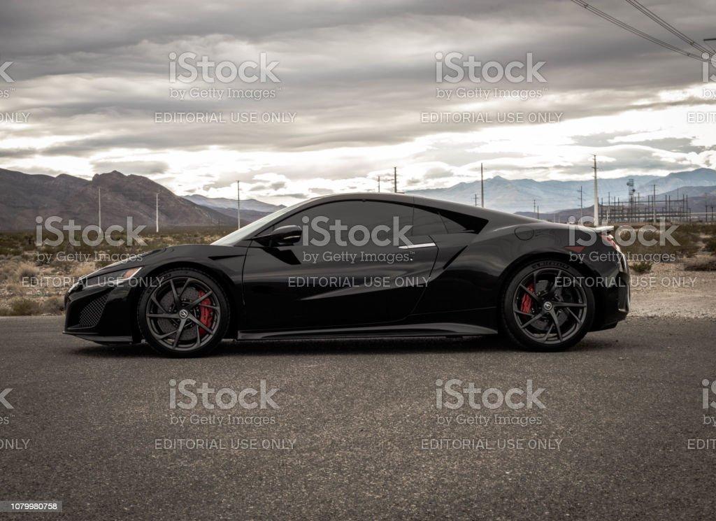 Acura NSX 2017 stock photo