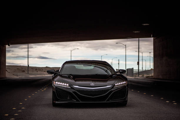 Acura NSX 2017 stock photo