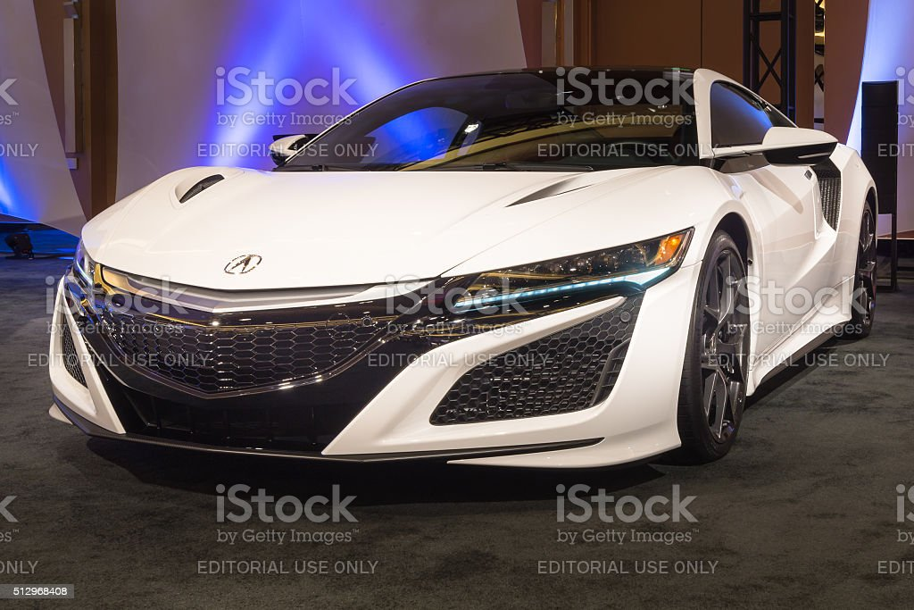 2016 Acura NSX stock photo