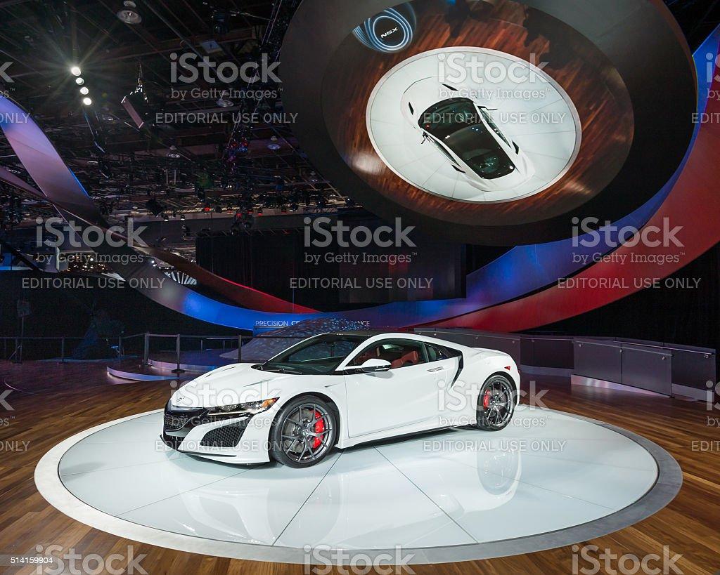 Acura NSX stock photo