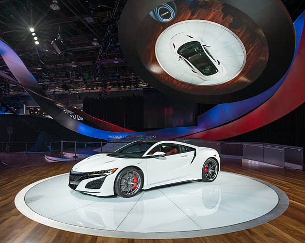 Acura NSX stock photo