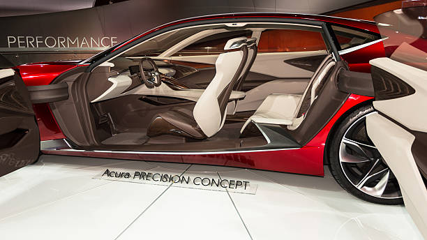 Acura Precision Concept stock photo