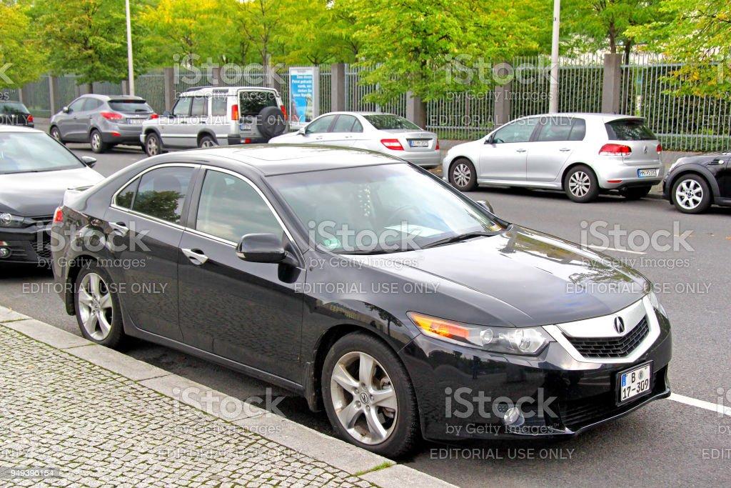 Acura TL stock photo