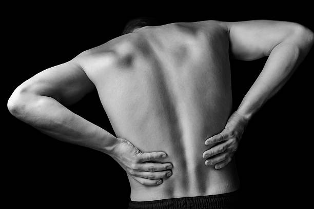 acute backache - low section stock photos and pictures