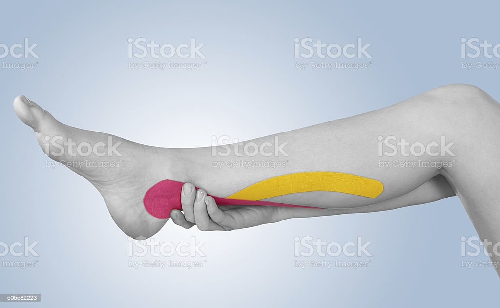 Acute pain in sword. royalty-free stock photo